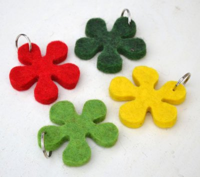"Key ring ""Flower"""