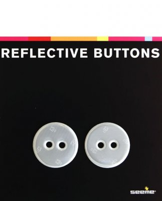 Reflective Buttons Round 30 mm