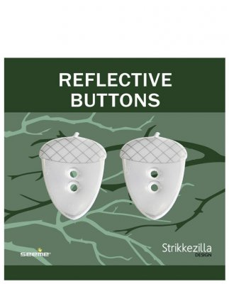 Reflective button 'Acorn'