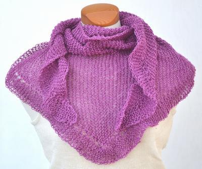 1353 Scarf in silk cashmere - Scarves, shawls & ponchos