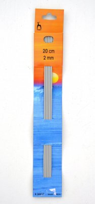 Knitting needles double pointed 2 mm