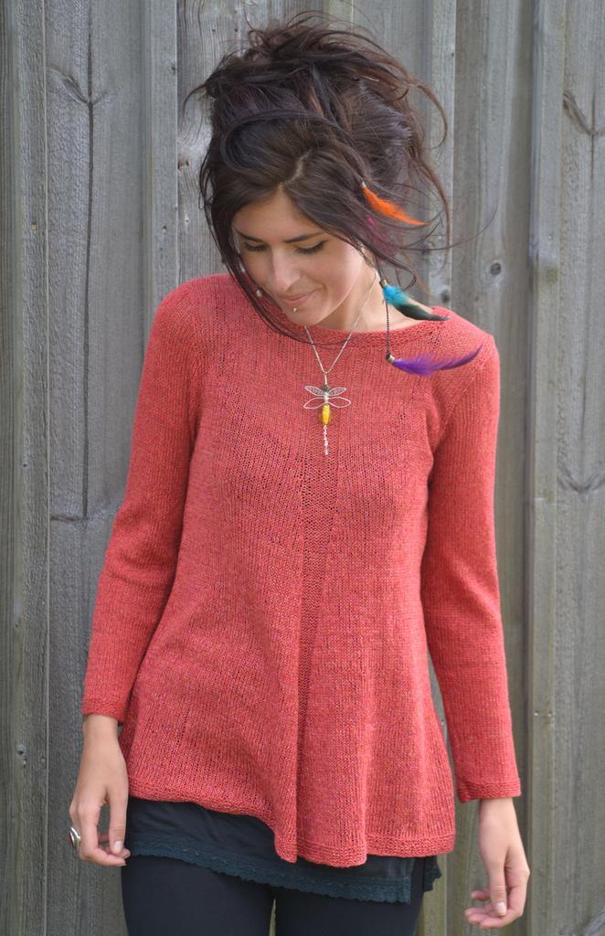 mönster till stickade tröjor